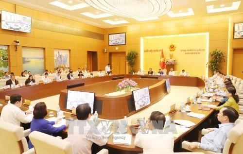 15ème session du comité permanent de l'Assemblée nationale: première journée - ảnh 1