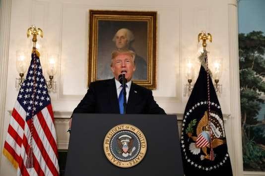 Donald Trump: «Nous ne pouvons pas certifier» l'accord sur le nucléaire iranien - ảnh 1