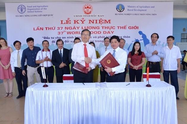 Célébration de la Journée mondiale de l'alimentation au Vietnam - ảnh 1