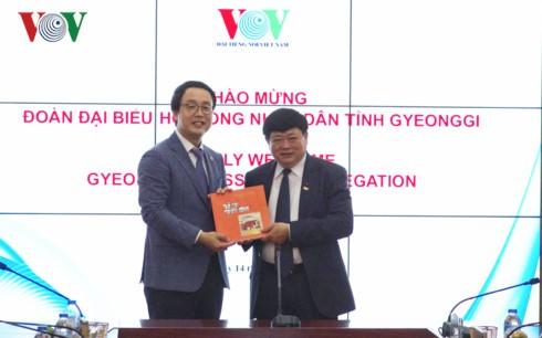 Promouvoir la coopération entre la Voix du Vietnam et la province sud-coréenne de Gyeonggi - ảnh 1