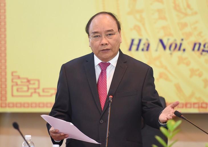 Nguyen Xuan Phuc à la rentrée scolaire de l'Académie politique nationale - ảnh 1