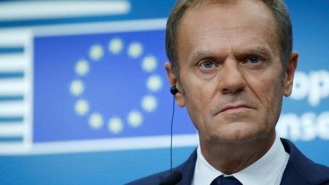 Brexit: Pour Tusk, l'issue des négociations dépend du Royaume-Uni - ảnh 1