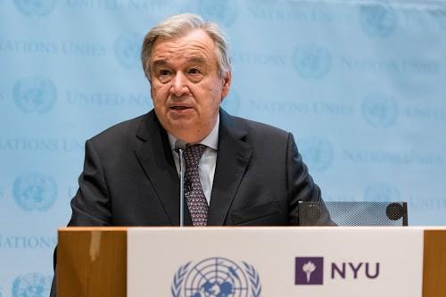 Antonio Guterres appelle à relever les grands défis mondiaux - ảnh 1