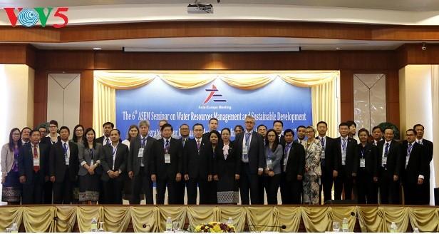 Forum Asie-Europe sur la gestion de l'eau et le développement durable - ảnh 1