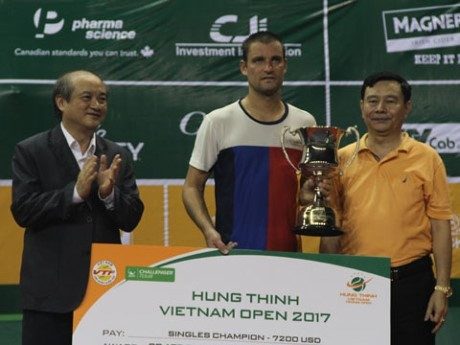 Clôture du tournoi international de tennis Vietnam Open 2017  - ảnh 1