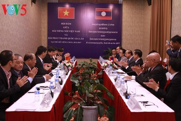 La VOV intensifie sa coopération avec la radio nationale du Laos - ảnh 1