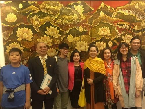 Exposition d'art bouddhique contemporain à Hanoï - ảnh 1