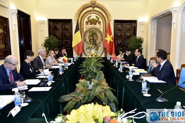 Consultation politique Vietnam-Belgique - ảnh 1
