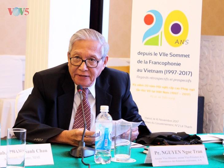 «Le rayonnement francophone en Asie, c'est le Vietnam!» - ảnh 1