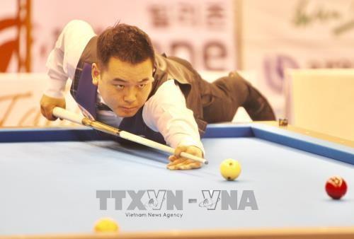 Championnats d'Asie de billard carambole: les Sud-Coréens dominent à trois bandes - ảnh 1