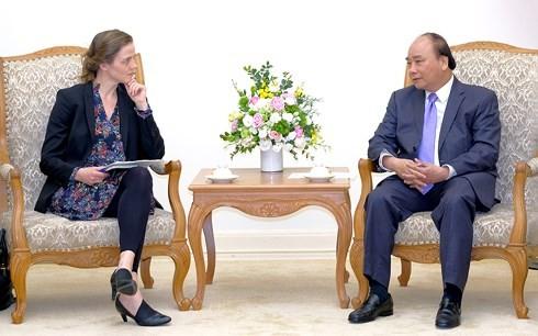 Le Premier ministre reçoit la ministre danoise de la Santé - ảnh 1