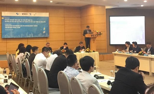 Colloque: les entreprises vietnamiennes et le droit de la propriété intellectuelle - ảnh 1
