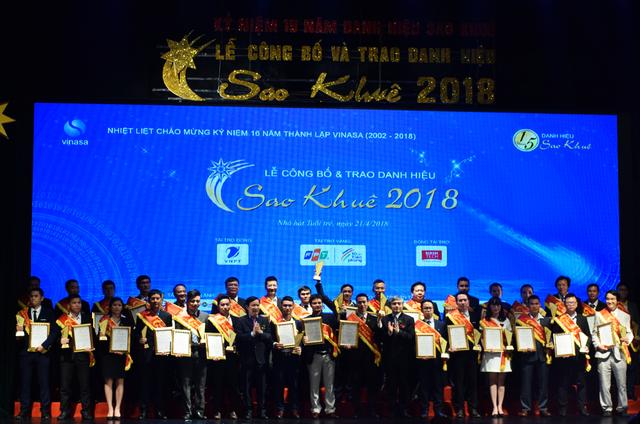 Sao Khuê 2018: 73 produits et services honorés - ảnh 1