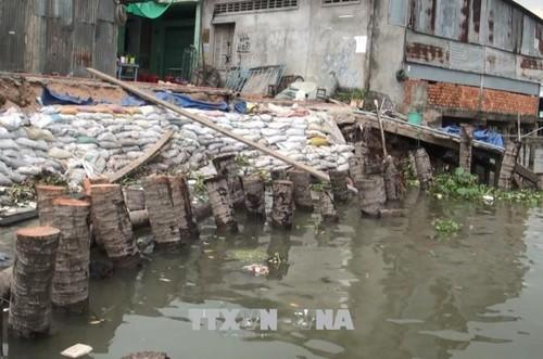 1.500 milliards de dôngs au delta du Mékong pour faire face à l'éboulement de terrain  - ảnh 1