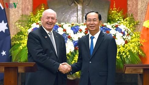 Entretien entre le président vietnamien et le gouverneur général d'Australie  - ảnh 2