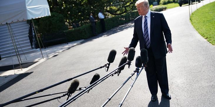 Trump dit que le sommet avec Kim pourrait malgré tout avoir lieu le 12 juin  - ảnh 1