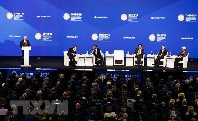 Forum économique international de Saint-Pétersbourg : Le Vietnam a signé des contrats - ảnh 1