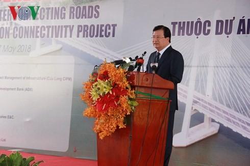 Inauguration du pont de Cao Lanh - ảnh 2