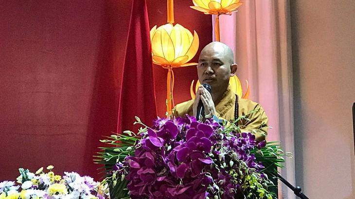 Thich Duc Thiên, premier Vietnamien à recevoir l'Ordre Padma Shri de l'Etat indien - ảnh 2