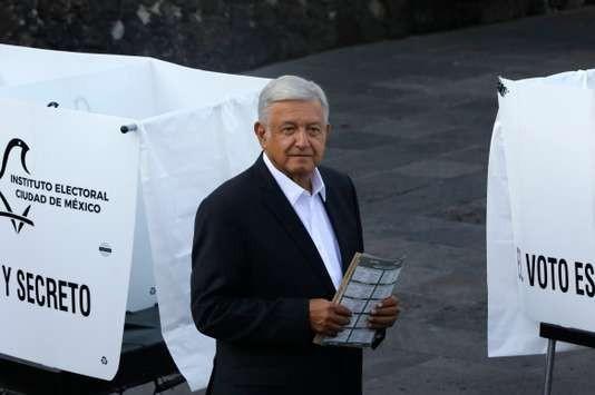 Mexique: large victoire du candidat de gauche «AMLO» à la présidentielle - ảnh 1