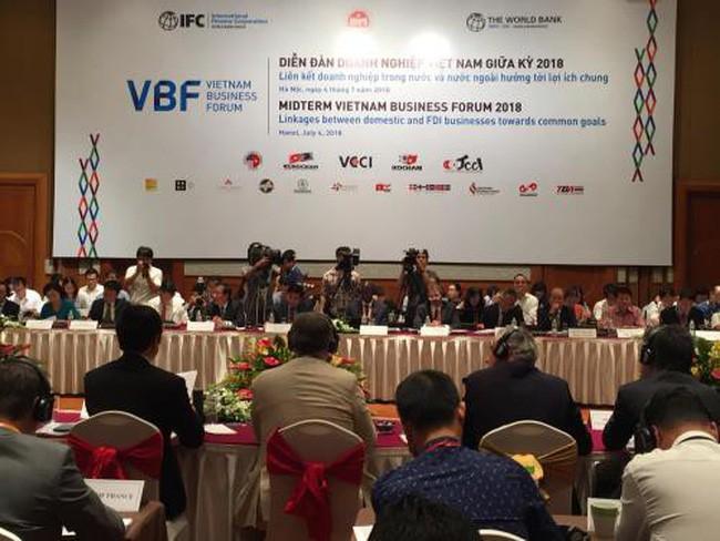 Forum d'affaires du Vietnam de mi-mandat 2018 - ảnh 1
