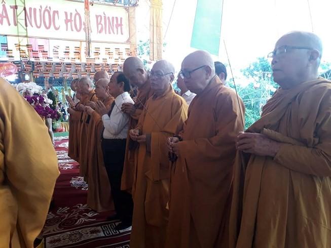 L'Église bouddhique du Vietnam prie pour les morts pour la Patrie - ảnh 1