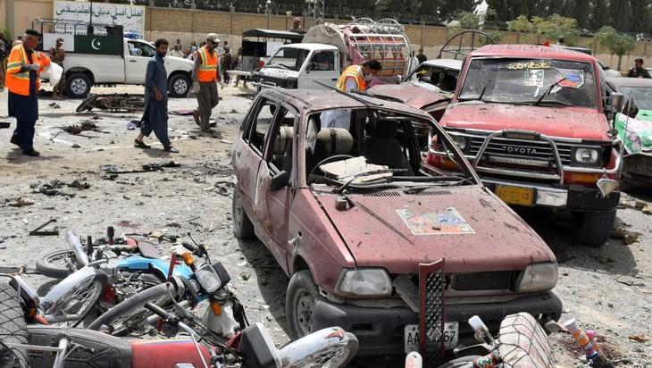 Pakistan: attentat suicide le jour des élections générales - ảnh 1