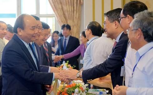 Nguyên Xuân Phuc travaille avec des responsables de Lâm Dông - ảnh 1
