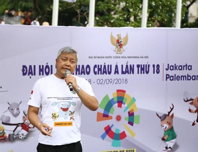 Fête de promotion des Jeux d'Asie 2018 - ảnh 1