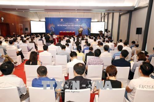 Colloque sur le développement de l'intelligence artificielle au Vietnam 2018  - ảnh 1