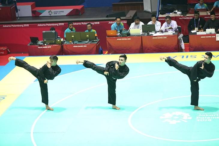 ASIAD 2018: le Vietnam décroche 2 médailles d'argent pour le pencak silat - ảnh 1