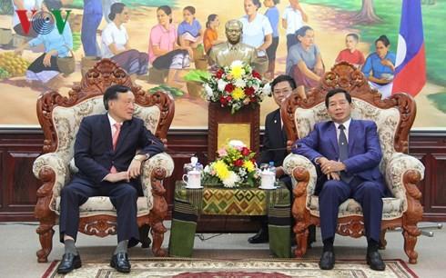 Justice : Des dirigeants laotiens apprécient les résultats de la coopération avec le Vietnam - ảnh 1