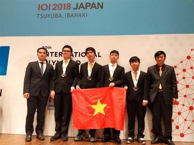 30e Olympiades internationales d'informatique: une médaille d'or pour le Vietnam - ảnh 1