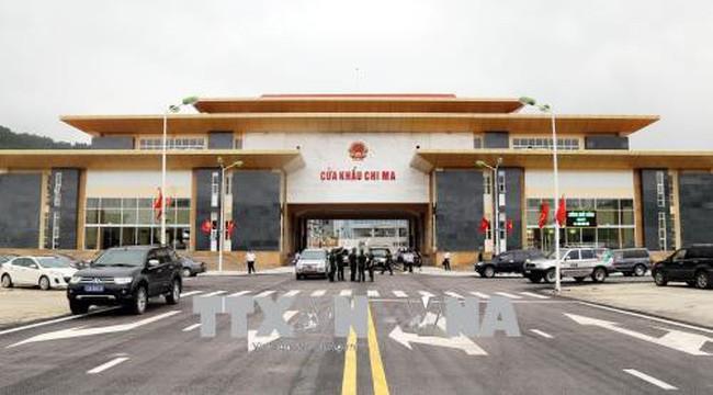 Ouverture des postes-frontière Chi Ma (Vietnam) et Ai Dian (Chine) - ảnh 1