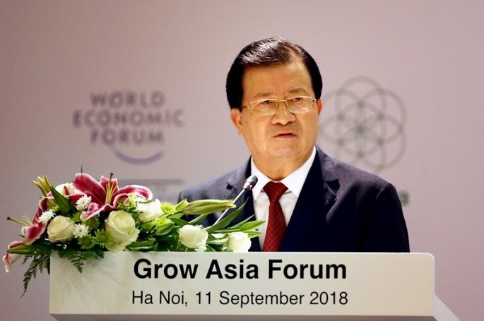 WEF ASEAN : Trinh Dinh Dung au forum sur la croissance en Asie - ảnh 1