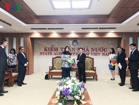 Renforcer la coopération entre l'Audit d'État du Vietnam et son confrère malaisien - ảnh 1