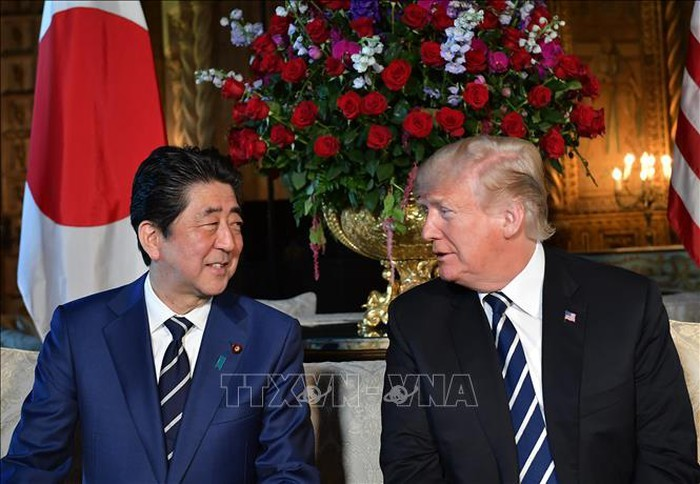 Donald Trump rencontre Shinzo Abe avant l'Assemblée générale de l'ONU  - ảnh 1