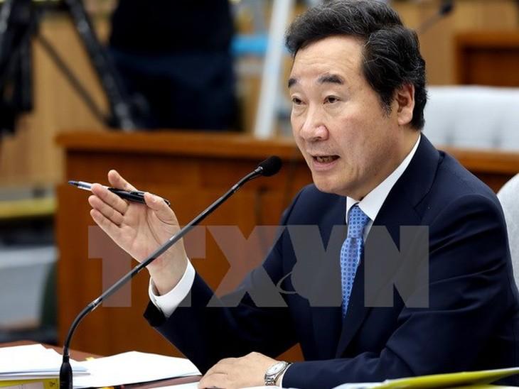 Le Premier ministre sud-coréen se rendra aux obsèques du président Trân Dai Quang - ảnh 1