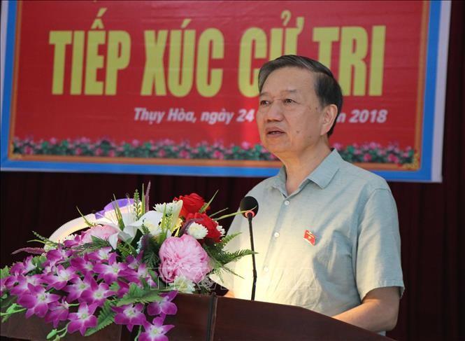 Tô Lâm rencontre l'électorat de Bac Ninh - ảnh 1