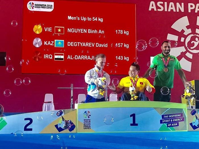 ASIAN ParaGames 2018: 2e médaille d'or pour le Vietnam - ảnh 1
