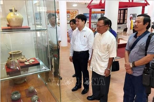 Ninh Thuan: Fête Katé des Cham en exposition - ảnh 1