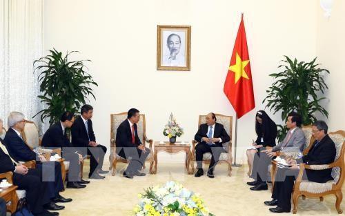 Nguyên Xuân Phuc reçoit le PDG du groupe thaïlandais SCG - ảnh 1
