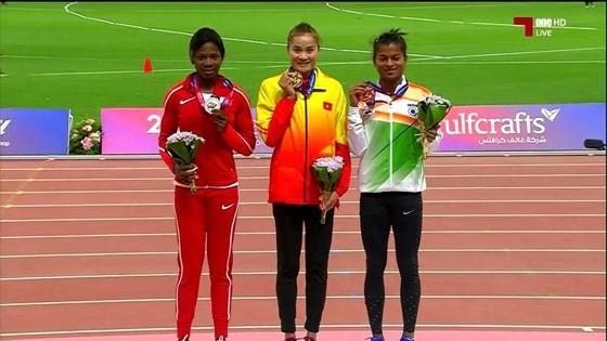 Athlétisme: une médaille d'or pour Quach Thi Lan - ảnh 1