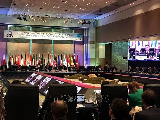 Réunion des ministres du G20 chargés de la transition écologique et énergétique - ảnh 1