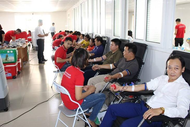 Les jeunes donneurs de sang de Hanoï - ảnh 1