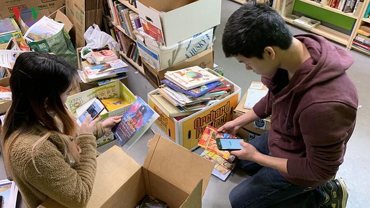 «Vietnam Book Drive for Kids»: faire aimer la lecture aux enfants vietnamiens - ảnh 1