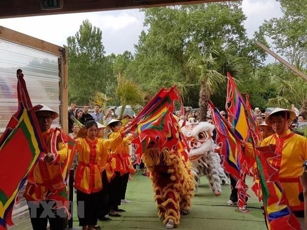 La culture vietnamienne mise à l'honneur à Lyon - ảnh 1