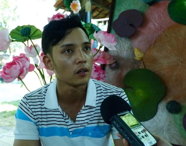 Nguyên Thanh Thao et les chapeaux coniques en feuille de lotus - ảnh 2