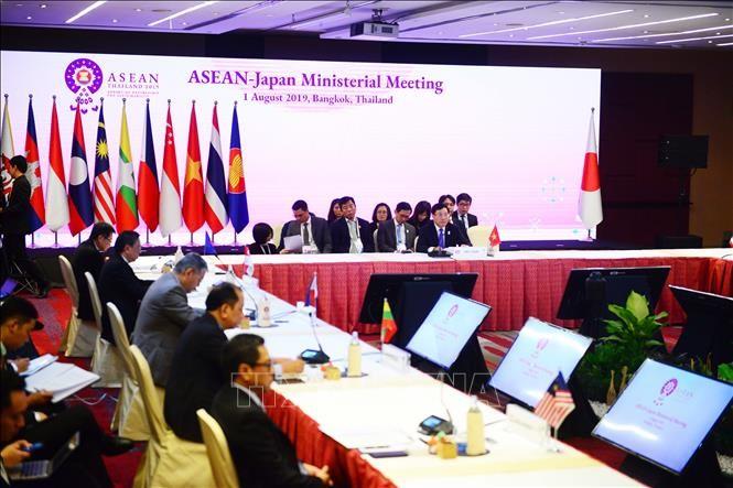 Conférence des ministres des Affaires étrangères de l'ASEAN et du Japon - ảnh 1