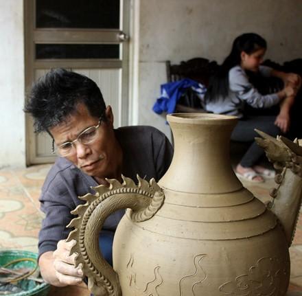The rustic pottery art of Hương Canh - ảnh 2